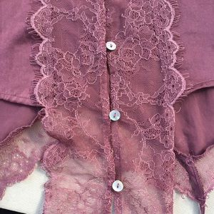 Free People Tops - Free People Satin and Lace Brami